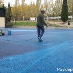 pintado pista deportiva Madrid